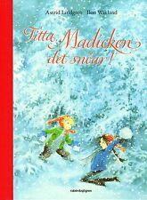Buch Astrid Lindgren SCHWEDISCH: Titta Madicken det snöar, Madita, svenska, NEU
