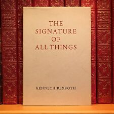 The Signature of All Things, Kenneth Rexroth. First Edition, 1st Printing.