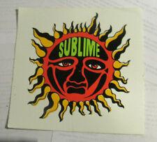 SUBLIME STICKER 1990'S METAL  SUPER  COLLECTIBLE RARE VINTAGE