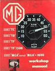 MG MIDGET TC,TD,TF1250,TF 1500,MGA 1500,1600,MKII WORKSHOP MANUAL 1942-1963