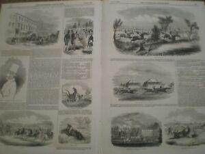 Northampton Grand Military Steeplechase 1844 prints ref AN