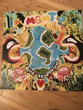 MGMT SIGNED 12x12 PHOTO COA EXACT PROOF TIME TO PRETEND VANWYNGARDEN