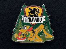 Disney LE 400 Trading Pin Food & Wine Festival 2012 Germany Pluto Sausage 92951