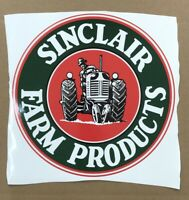 "SINCLAIR FARM PRODUCTS DECAL APPROX 11"" TALL Gas & Oil / GAS PUMP STICKERS"