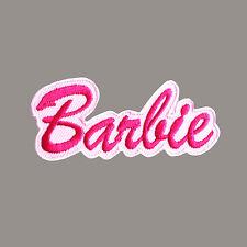 Barbie Doll Toy Children Fashion Cute Embroidered Patch Iron Logo Emblem Custom