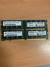 2 x Memory Module SDRAM 512 133MHz 168-RDIMM ( MT36LSDT12872G-13ED2 REF )