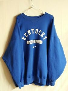 Vintage XXXL 3XL Nike Kentucky Wildcat Football Sweat Shirt