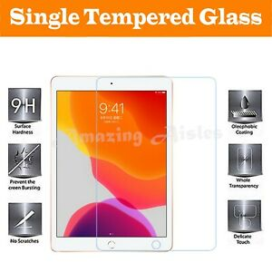 "2020 New iPad 10.2"" 8th Generation Gorilla Tempered Glass Film Screen Protector"