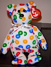 Ty Beanie Baby ~ M&M'S the Bear ~ Walgreens Exclusive ~ MINT with MINT TAGS