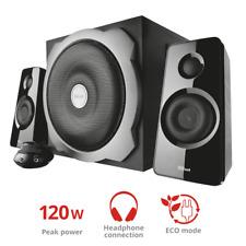 Trust Tytan 2.1 PC Lautsprechersystem Subwoofer, 120 Watt schwarz #762965