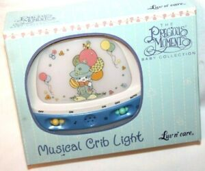 Luv n' Care The Precious Moments Baby Collection Clown Musical Crib Night Light