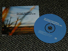 THE FRANK AND WALTERS SOMETHING HAPPENED TO ME UK 1999  SETANTA 3 TRACK CD