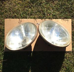 Pair of LUCAS 700 HEADLAMPS  7 inch