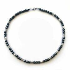 Chaînes, colliers et pendentifs en perle pour homme