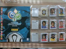 PANINI WM WC 2006 * SET COMPLETO ALBUM VUOTO ** loose Set EMPTY ALBUM + FRANCOBOLLO