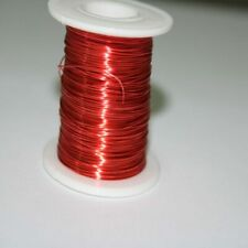100m Solderability Red Magnet Wire 0.2mm Class 155 UEW Fine Enameled Copper Wire