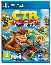 Crash Team Racing Nitro-Fueled Ps4 gioco italiano  Ctr Kar Playstation4  nuovo