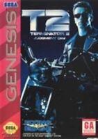 Terminator 2 Judgment Day - Sega Genesis Game Authentic
