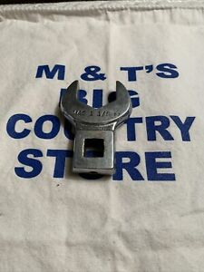 """Mac Tools USA 1/2"""" Drive SAE 1-1/8"""" Open End Crowfoot Wrench COV36"""