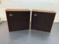 Vintage Philips 22RH402 Hi-Fi International 2 Way Full Range Speakers VGC