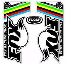 FOX Float UCI Forks / Suspension Factory Style Decal Kit Sticker Adhesive Set