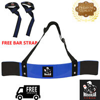 NEW WEIGHT LIFTING BODYBUILDING BICEP ARM BLASTER FITNESS EZ BAR CURL ARMS