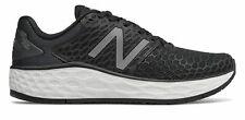 New Balance de mujer fresco Espuma Vongo V3 Zapatos Negro Con Blanco