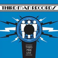 "THE REBEL Live at Third Man 7"" company country teasers Black Poodle Spray Paint"