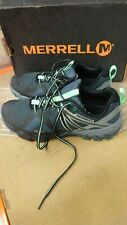 Merrell Women's MQM Flex GTX Shoes UK 6.5 GREY/BLACK +
