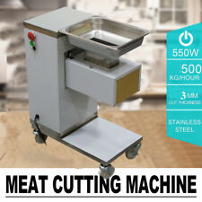 500kg/Hour Commercial Meat Slicer Stainless Meat Cutting Machine Canteen Cutter