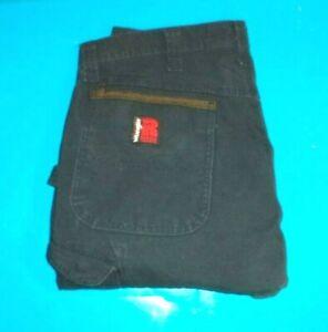 Mens Riggs Work Wear  Cargo Carpenter Pants size 34 x 30 .#866