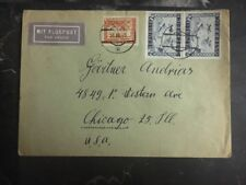 1918 Wels Austria Cover To Chicago Il Usa