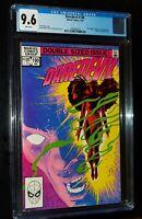 DAREDEVIL #190 1983 Marvel Comics CGC 9.6 NM+ WHITE PAGES