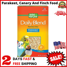 New listing Daily Seeds Blend for Parakeet Canary Parrot Finch Birds Food 2Lb Millet Grains
