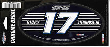 RICKY STENHOUSE JR #17  3X7 CHROME WINCRAFT DECAL STICKER FREE SHIPPING