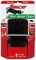 Tomcat High Impact Rat Snap Trap 1 Rat Size Trap Reusable Effectively Kill Rats