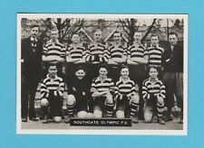 FOOTBALL - ARDATH - SOUTHERN FOOTBALL TEAM  -  SOUTHGATE  OLYMPIC  F.C. - 1936