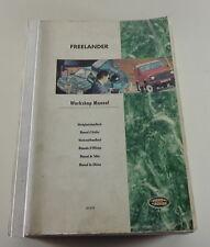 Manual de Taller Land Rover Freelander Von 1998/1999