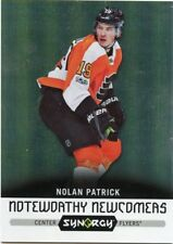17/18 UPPER DECK SYNERGY NOTEWORTHY NEWCOMERS #NN-30 NOLAN PATRICK FLYERS *46950