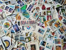 USA 80 GRAMS USED STAMPS KILOWARE COLLECTION MIXTURE COLLECTED OVERSEAS LOT 17