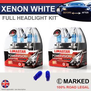 Audi TT 06-14 Xenon White Upgrade Kit Headlight Dipped High Side Bulbs 6000k