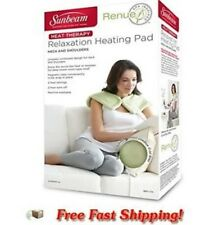 New Hot Heat Therapy Neck And Shoulder Wrap Pad Pack Electric Reusable Soothing
