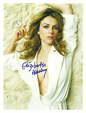 ELIZABETH HURLEY 8 x 10 PHOTO COA FROM N.A. # 184113