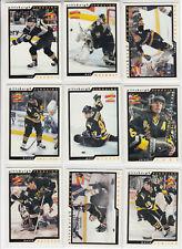 96/97 Score Pittsburgh Penguins Team Set - Lemieux Jagr Francis +