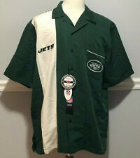 New York Jets Authentic NFL Football Bowling Mens XL Shirt Strike New With Tags