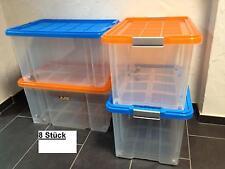 8 X Unterbettkommode Aufbewahrungsbox Stapelbox Eurobox 60 X 40 X 30 CM Neuware