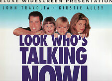 LOOK WHO'S TALKING NOW! -John Travolta Kirstie Alley LASER DISC NEW Never played