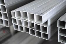 Barra Tubo Quadro in alluminio  ANTICORODAL 50X50x3mm lunga 1Metro Fresa/cnc
