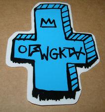 ODD FUTURE OFWGKTA Sticker BLUE BAND LOGO decal New TYLER THE CREATOR