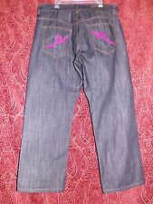 ROCAWEAR Jeans Size~~W38 X L31~~Regular  Ultra Fit~~Nice Design & Style